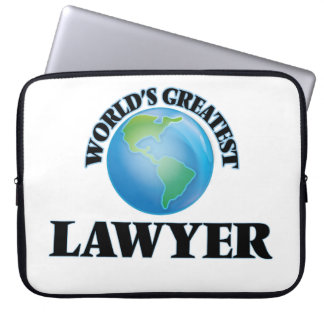 World's Greatest Lawyer Laptop Sleeves