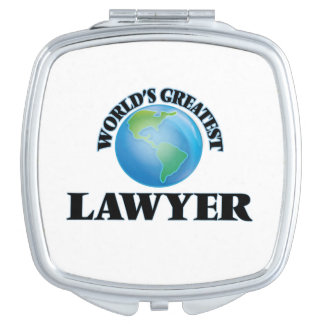 World's Greatest Lawyer Makeup Mirror