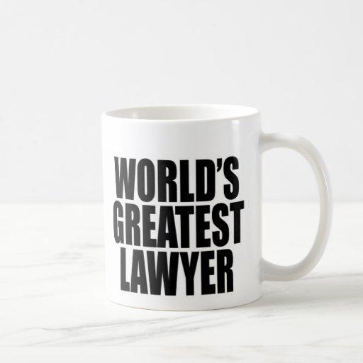 World's Greatest Lawyer Coffee Mug