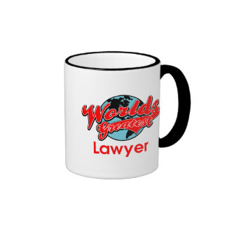 World's Greatest Lawyer Mugs