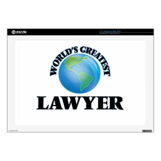 World's Greatest Lawyer Laptop Skins