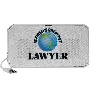 World's Greatest Lawyer Laptop Speaker