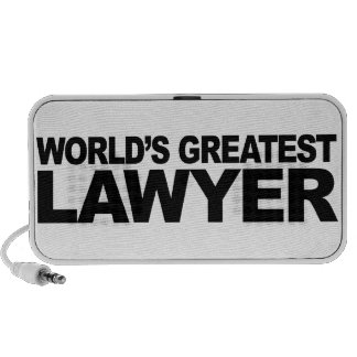 World's Greatest Lawyer PC Speakers