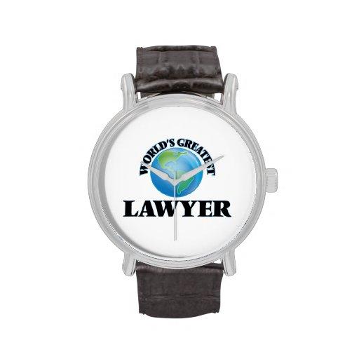 World's Greatest Lawyer Wrist Watches