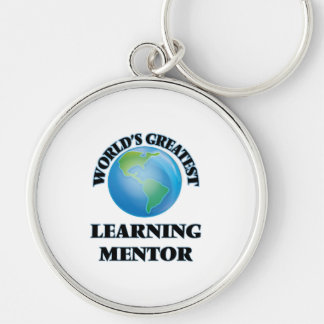 World's Greatest Learning Mentor Keychains