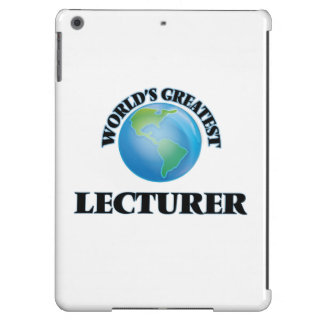 World's Greatest Lecturer iPad Air Covers