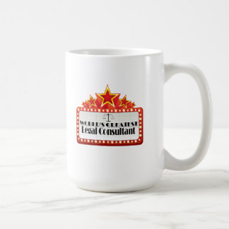 World's Greatest Legal Consultant Classic White Coffee Mug
