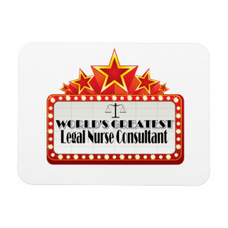 World's Greatest Legal Nurse Consultant Vinyl Magnets