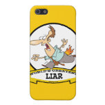 WORLDS GREATEST LIAR CARTOON CASES FOR iPhone 5