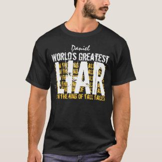 Worlds Greatest LIAR Funny A004 T-Shirt