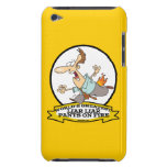 WORLDS GREATEST LIAR PANTS ON FIRE CARTOON iPod TOUCH CASE