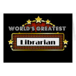 World's Greatest Librarian Cards