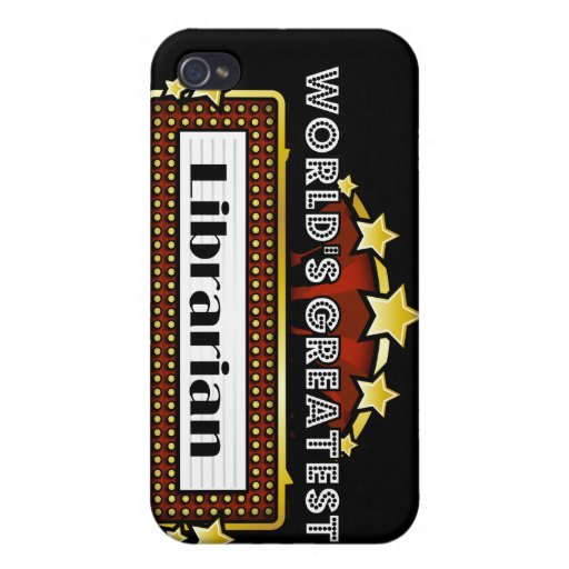 World's Greatest Librarian iPhone 4 Case