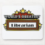 World's Greatest Librarian Mouse Pad