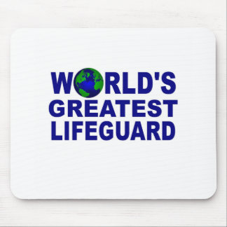 World's Greatest Lifeguard Mouse Pad