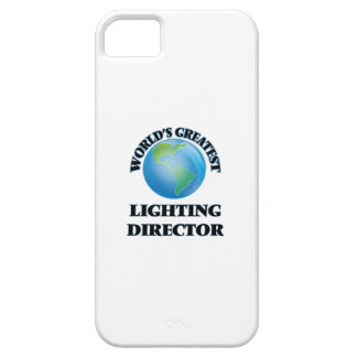 World's Greatest Lighting Director iPhone 5 Cases