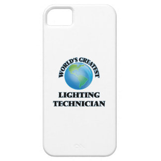 World's Greatest Lighting Technician iPhone 5 Covers