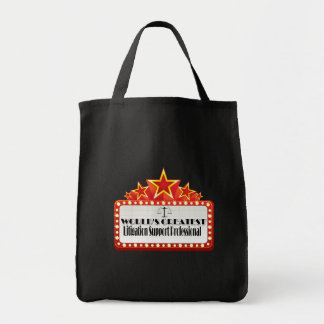 World's Greatest Litigation Support Professional Tote Bag