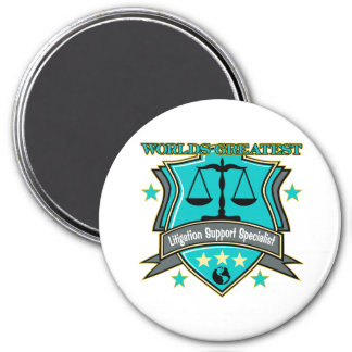 World's Greatest Litigation Support Specialist Magnets