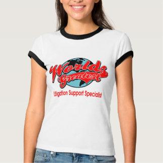 World's Greatest Litigation Support Specialist T-Shirt