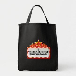 World's Greatest Litigation Support Specialist Tote Bag