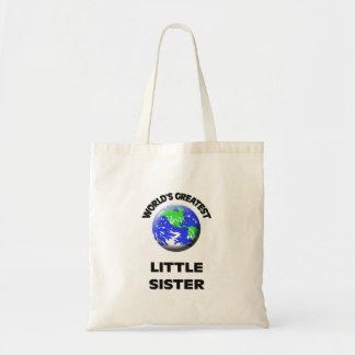 World's Greatest Little Sister Bag