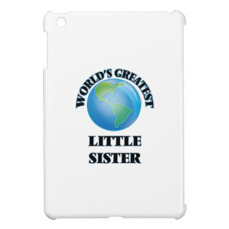 World's Greatest Little Sister iPad Mini Covers