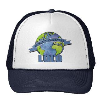 World's Greatest Lolo Trucker Hat