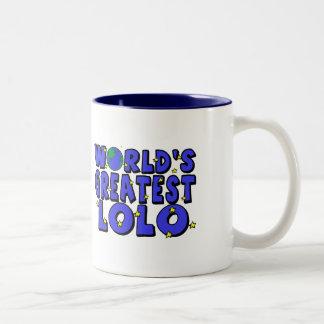 World's Greatest Lolo Two-Tone Coffee Mug
