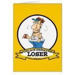 WORLDS GREATEST LOSER CARTOON CARD