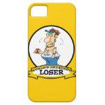 WORLDS GREATEST LOSER CARTOON iPhone 5 CASE