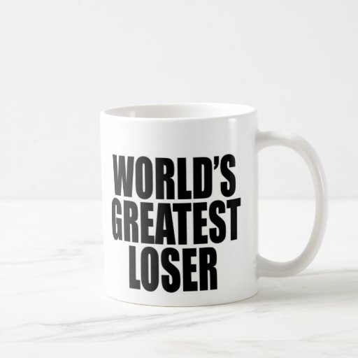 World's Greatest Loser Classic White Coffee Mug