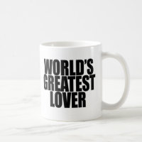 World's Greatest Lover Coffee Mug