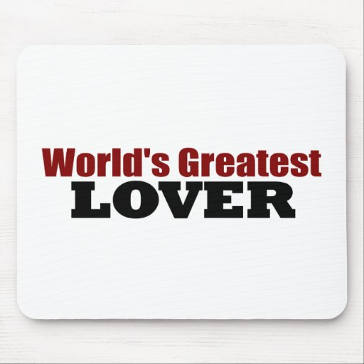 World'S Greatest Lover Mouse Pad