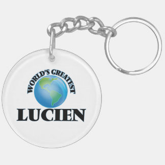 World's Greatest Lucien Key Chain