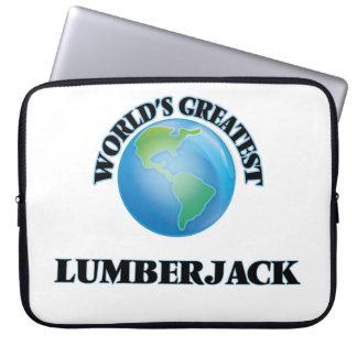 World's Greatest Lumberjack Laptop Sleeve
