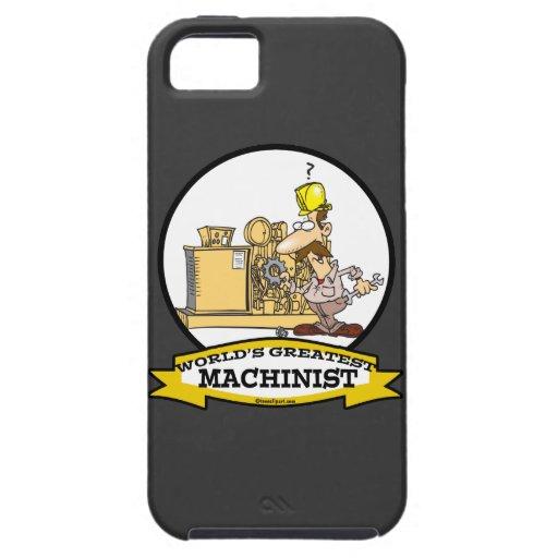 WORLDS GREATEST MACHINIST MEN CARTOON iPhone 5 COVER