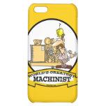 WORLDS GREATEST MACHINIST MEN CARTOON CASE FOR iPhone 5C