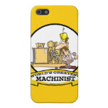 WORLDS GREATEST MACHINIST MEN CARTOON CASE FOR iPhone 5