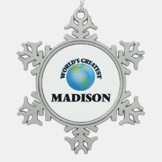 World's Greatest Madison Ornaments