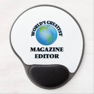 World's Greatest Magazine Editor Gel Mouse Pad