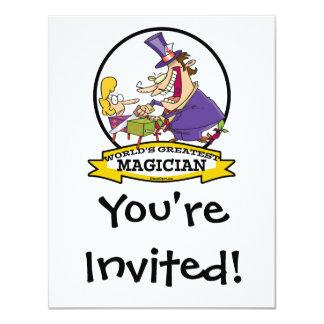WORLDS GREATEST MAGICIAN II CARTOON CARD
