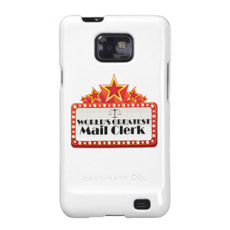 World's Greatest Mail Clerk Galaxy S2 Cover