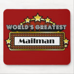 World's Greatest Mailman Mouse Pad