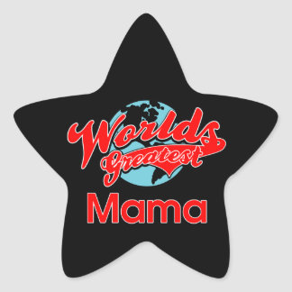 World's Greatest Mama Sticker
