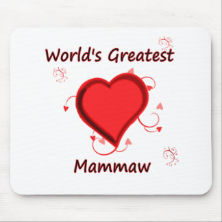 World's Greatest mammaw Mouse Pad