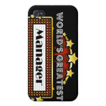 World's Greatest Manager iPhone 4/4S Cases