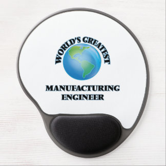 World's Greatest Manufacturing Engineer Gel Mouse Pad
