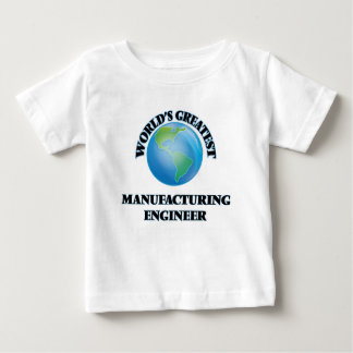 World's Greatest Manufacturing Engineer T-shirts