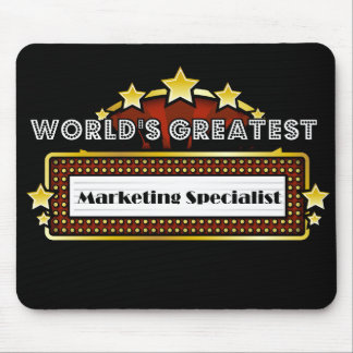 World's Greatest Marketing Specialist Mouse Pad